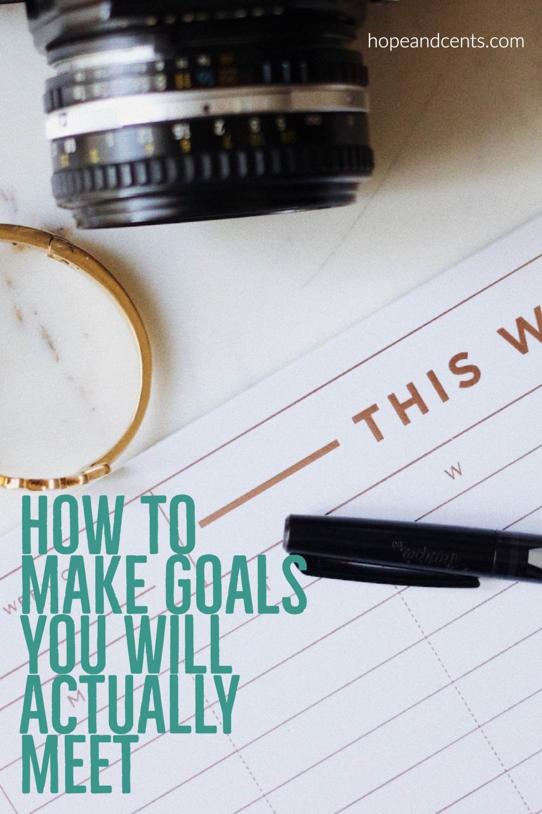 Approximately 45% of Americans make New Year's Resolutions, but only 8% keep them. The solution? Make goals - goals you will actually meet. These tips will help you do just that! #goals #personaldevelopment  #newyear #goalsetting