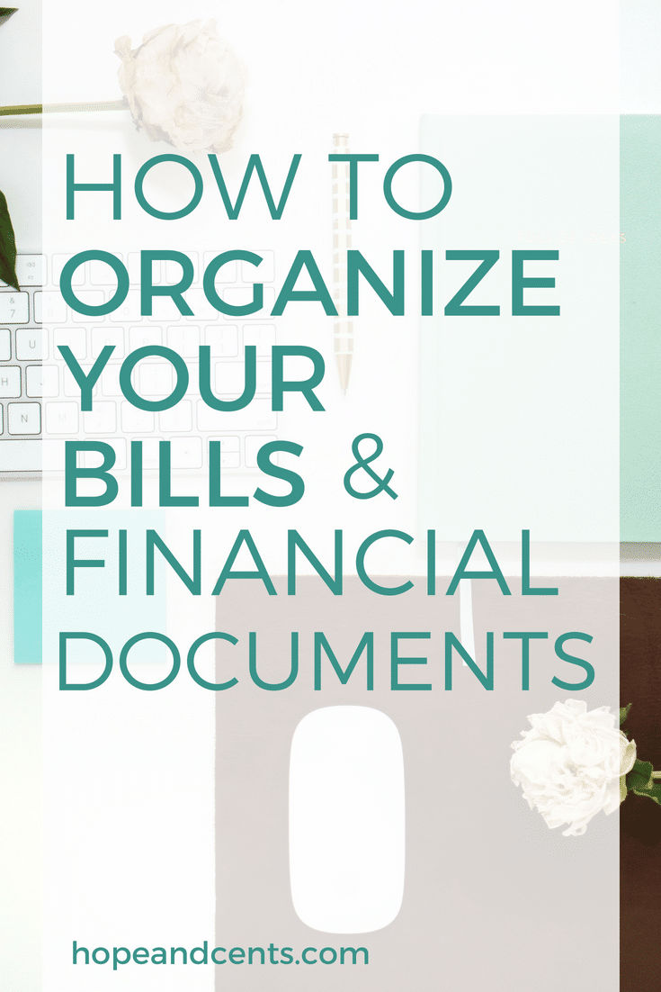 Are you looking for a way to organize your bills and get your finances in order? You'll love this easy-to-follow system for organizing your bills and financial documents.