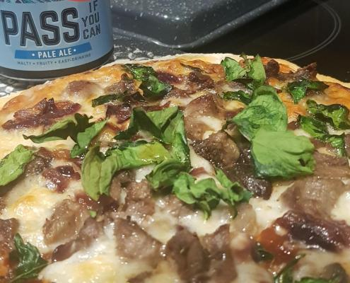 BBQ Beer Pizza