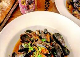 Cooking with beer Mussels recipe