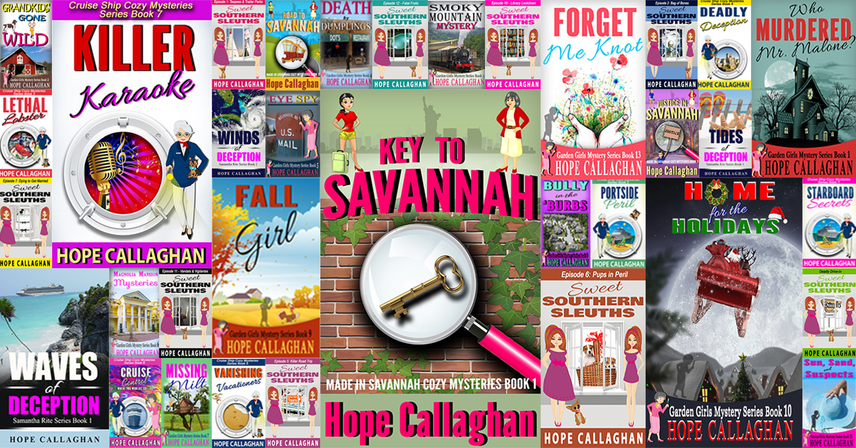 List of Cozy Mystery Books By Hope Callaghan