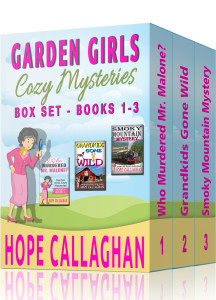 Garden Girls Cozy Mysteries Series Box Set - Books 1-3
