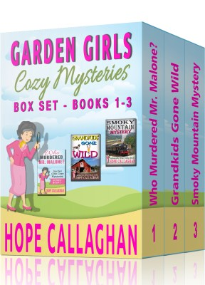 Garden Girls Cozy Mysteries Series Box Set – Books 1-3