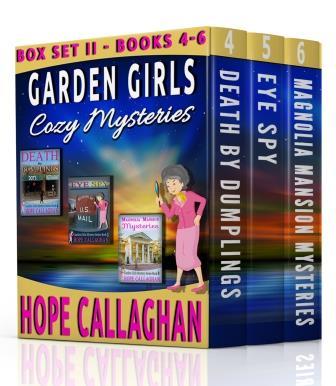Garden Girls Cozy Mysteries Series Box Set II (Books 4-6)