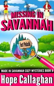 Download Missing in Savannah, a cozy mystery book by Christian Fiction Author Hope Callaghan