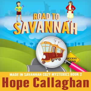 Road to Savannah Cozy Mystery Audiobook Cover