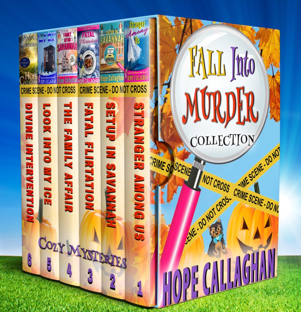6 Book Fall Into Murder Collection