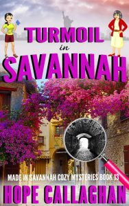 Download Turmoil in Savannah - A Cozy Mystery Book