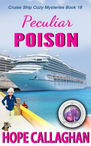 Brand New Christian Mystery Book, Peculiar Poison