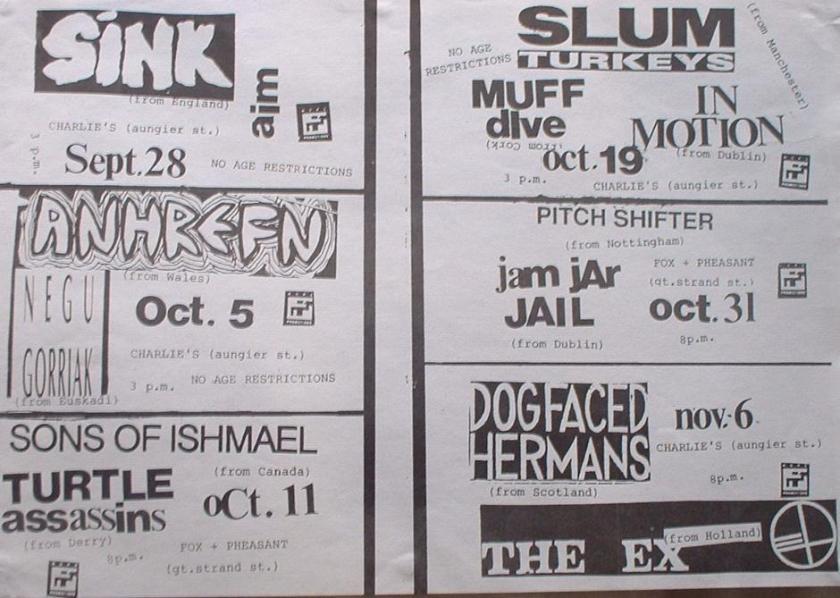 October November 1991