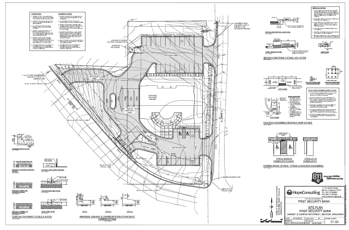 Site Plan Design Hope Consulting Civil Engineers Land