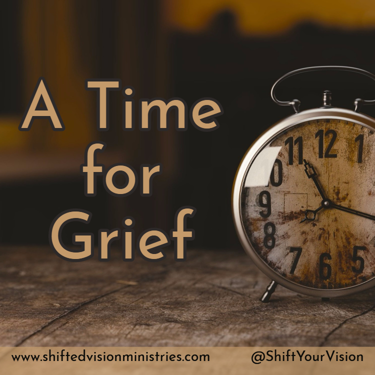 After a loss, the painful process of grieving is thrust upon us. It doesn't feel like it, but grief does have an end. You must get through the grief first.