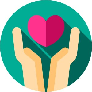 giving love icon