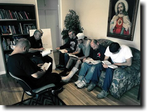 mens reentry program bible study