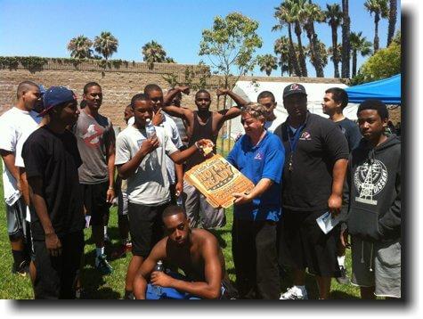 gang prevention outreach pizza