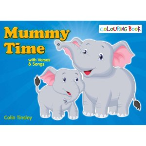 Mummy Time Colouring Book