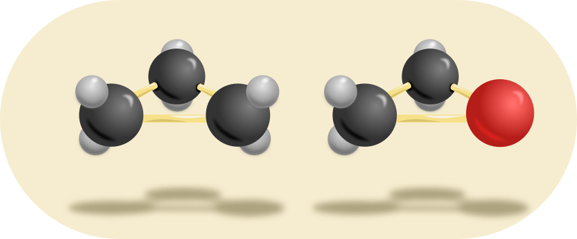 triangle shaped molecules