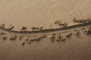 drawing a line in the sand
