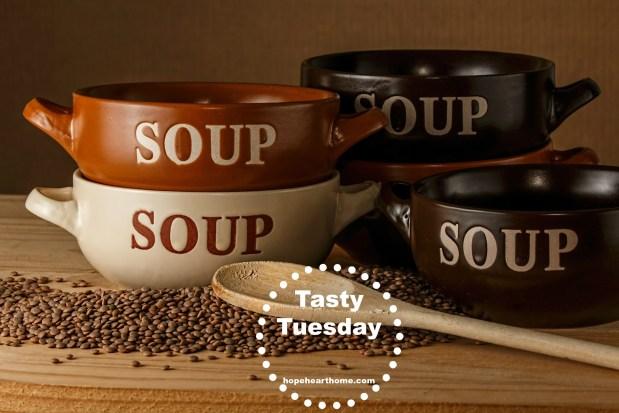 tasty tuesday lentil soup