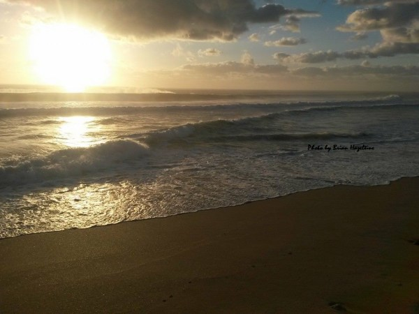 Sunrise over PB March 2014