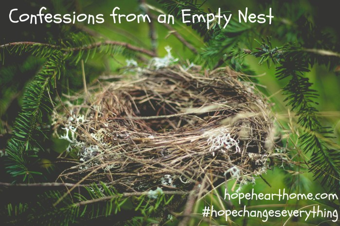 HHH Confessions Empty Nest