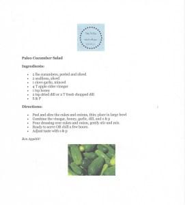 Tasty Tuesday Paleo Cuke Salad image