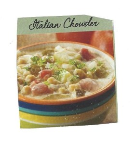 tasty tuesday: creamy italian chowder