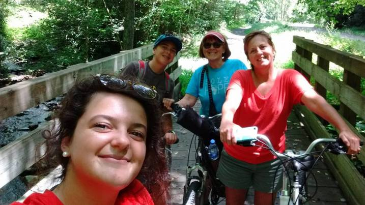 VA CREEPER BIKE RIDE 2016