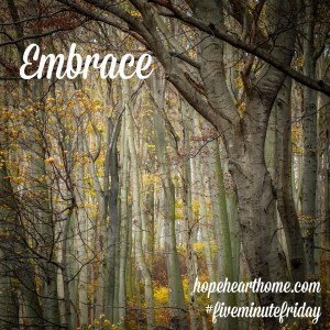 Five Minute Friday: EMBRACE