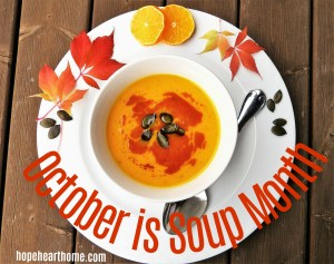 Tasty Tuesday: October Soup Is On!