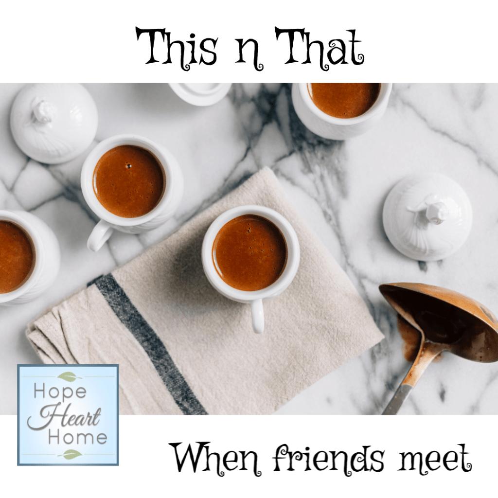 When Friends Meet