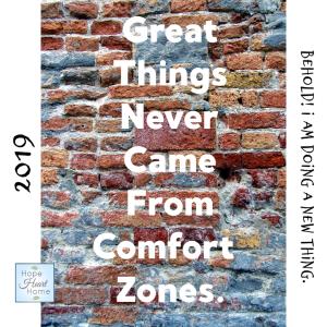 Comfort Zones?