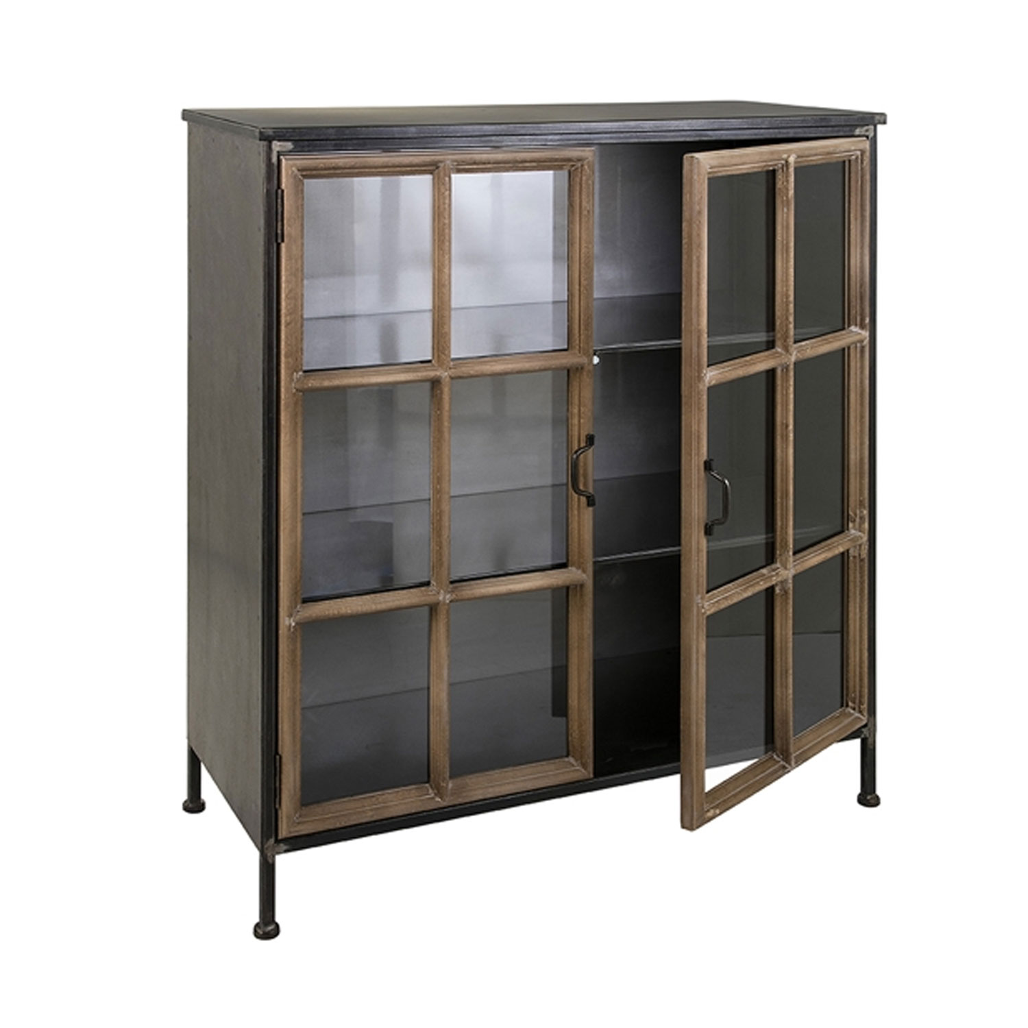 Imax 40534 Lawrence Wood Amp Metal Cabinet Hope Home Furnishings And Flooring