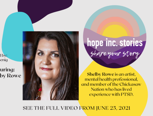 Share Your Story - Shelby Rowe