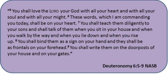 Love the Lord with all your heart