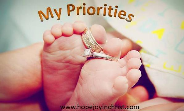 Fixing the Priorities in my life [My Priorities Series]