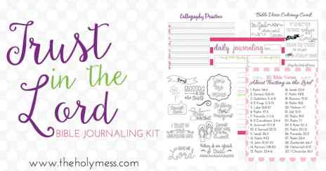 Bible Journaling Kit for Beginners