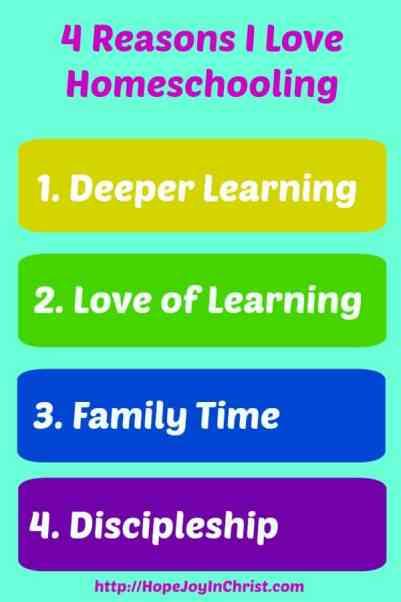 4 Reasons I Love Homeschooling. Why Homeschool. SAHM, Homeschooling Leads to a Love of Learning