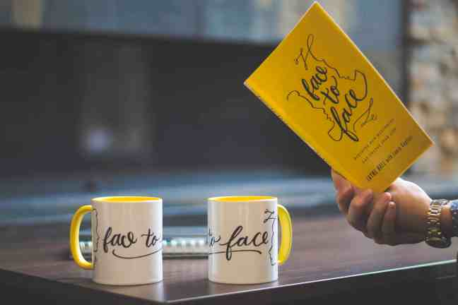 Face to Face mugs and book Giveaway (Reclaiming Hope & Joy in your Marriage)