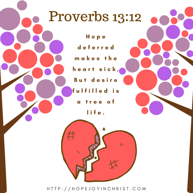 Proverbs 13:12 Hope Deferred Makes the Heart Sick (Reclaiming Hope & Joy in your Marriage)