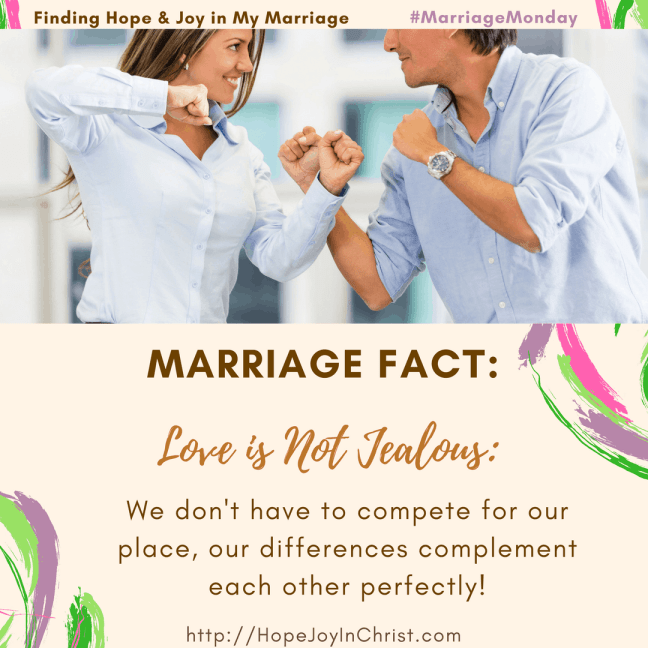 Marriage Fact_ Love Is Not Jealous Fighting to Be Sure Love Is Not Jealous (#MarriageMonday #ChristianMarrigae #BiblicalMarriage #1Corinthians13 #BiblicalWifehood #marriageChallenge)