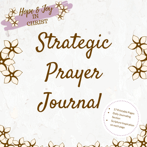 Strategic Prayer Journal #Prayer #PrayHard #PrayerQuotes #Printable #PrayerJournal #PrayerHelp