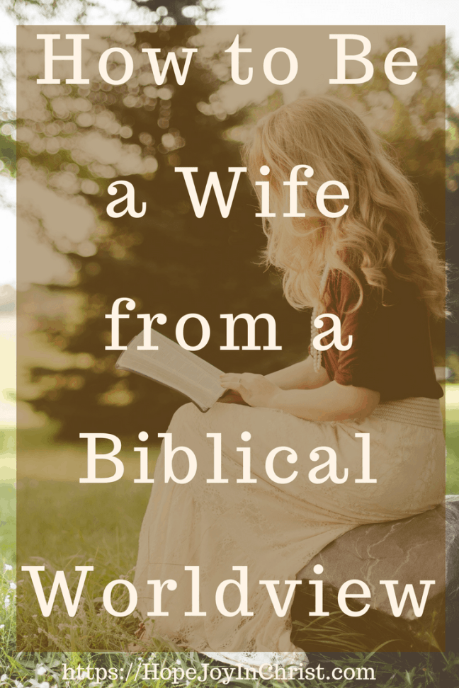 How to Be a Wife from a Biblical Worldview PinIt ( #ChristianMarriageAdvice #BiblicalMarriageAdvice #ChristianLiving #Relationshipquotes #FindingHopeAndJoyInMyMarriage #OnlineCourse #MarriageCourse )