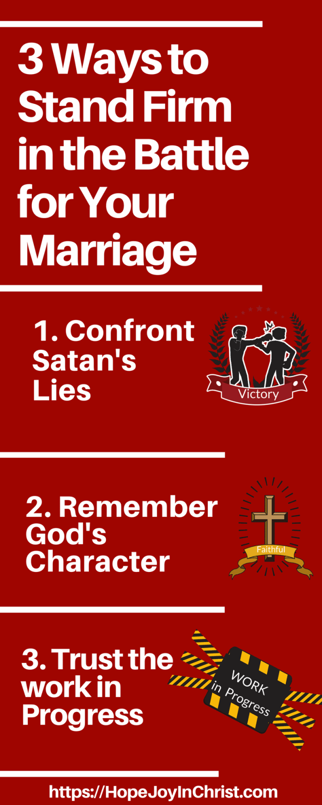 3 Ways to Stand Firm in the Battle for Your marriage LongPin (Christian Marriage, Biblical Wifehood, Reclaiming Hope & Joy in your Marriage ( #Christianmarriage #Biblicalmarriage #Christianliving #MarriageMonday #FindingHopeandJoyinmymarriage