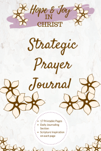 Strategic Prayer Journal PinIt #Prayer #PrayHard #PrayerQuotes #Printable #PrayerJournal #PrayerHelp