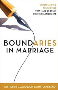 Boundaries in Marriage book