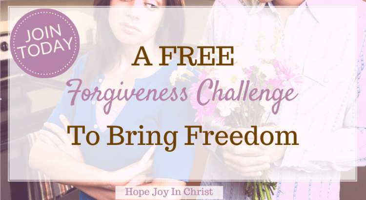 A FREE Forgiveness Challenge To Bring Freedom FtImg, Forgiveness challenge, 21 day forgiveness challenge, the forgiveness challenge, forgiveness quotes, the book of forgiving, 30 day forgiveness challenge, marriage advice, Christian marriage advice #Forgiveness #hopejoyinchrist