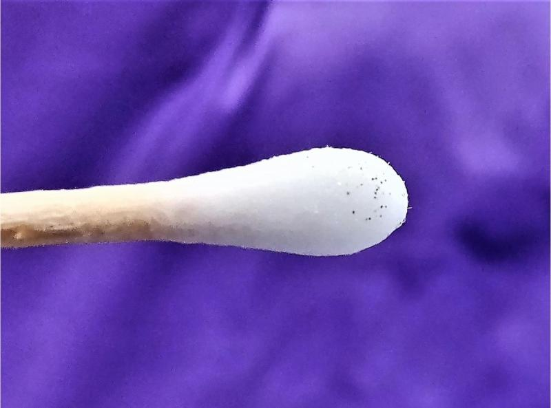 nanobots on qtip swab theragrippers