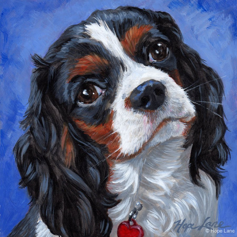 Hope Lane Art Custom Pet Portraits And Custom Portrait
