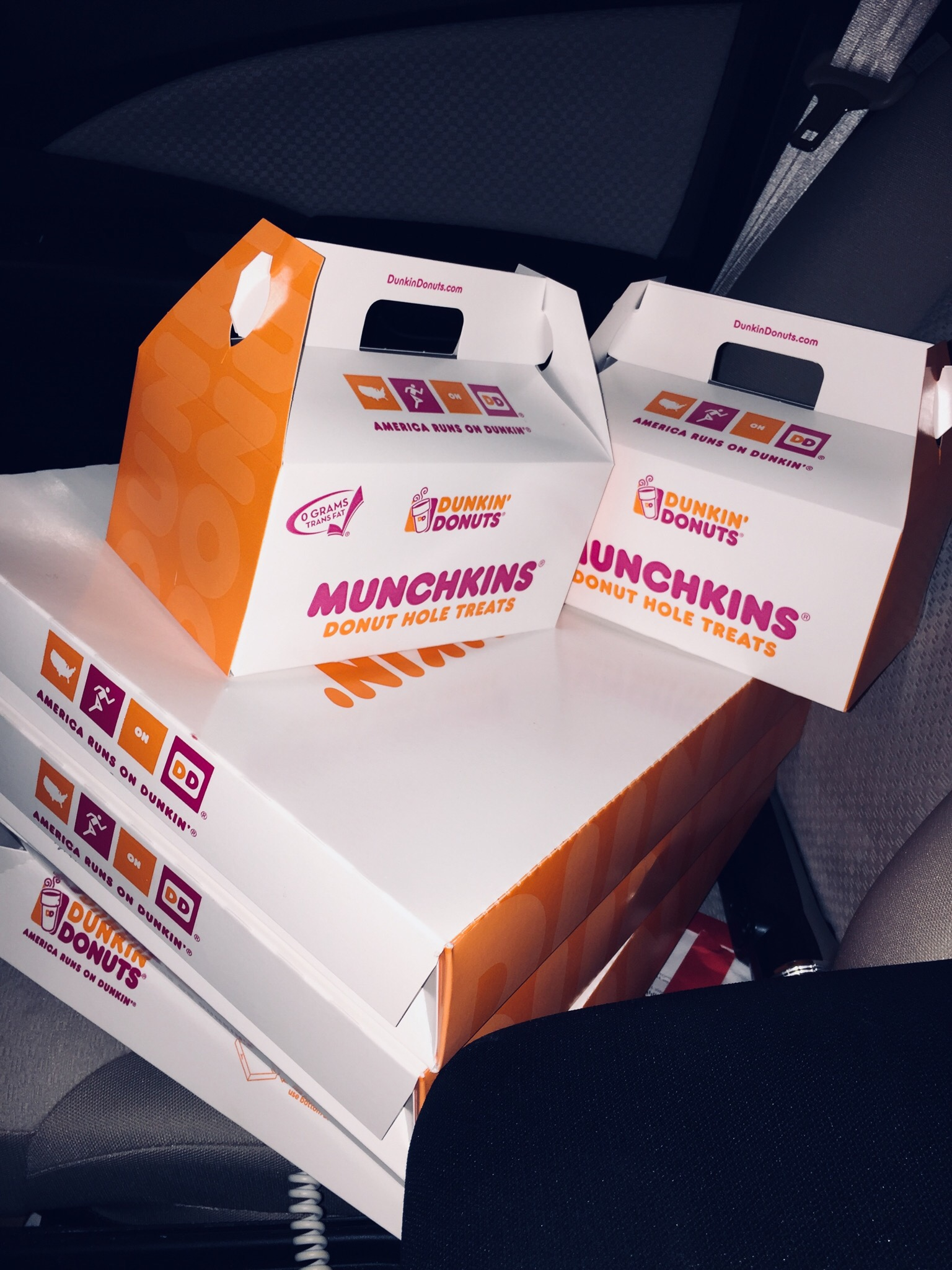 That Time I Got 86 Donuts at Dunkin